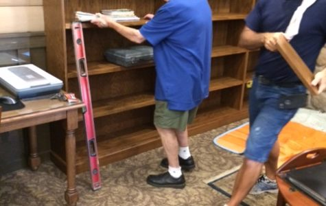 Growing the Library with new bookshelves