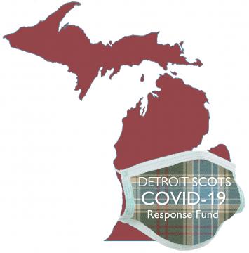 Detroit Scots COVID-19 RF Logo red