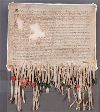Picture of the Declaration of Arbroath
