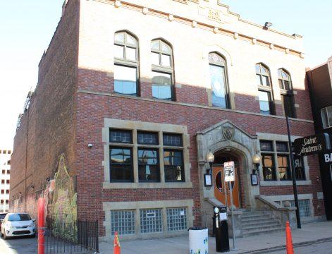 Historic St. Andrew's Hall Detroit, Michigan.