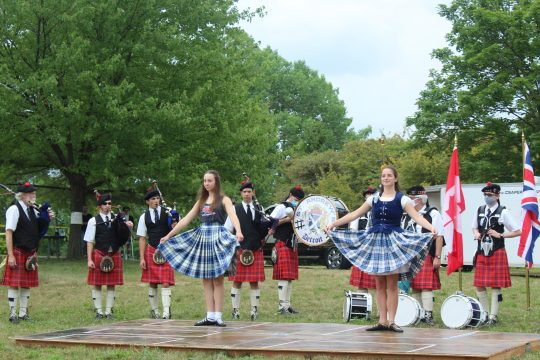 Highland Dancing along with Pipe Band entertainment