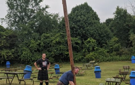 Throwing the Caber