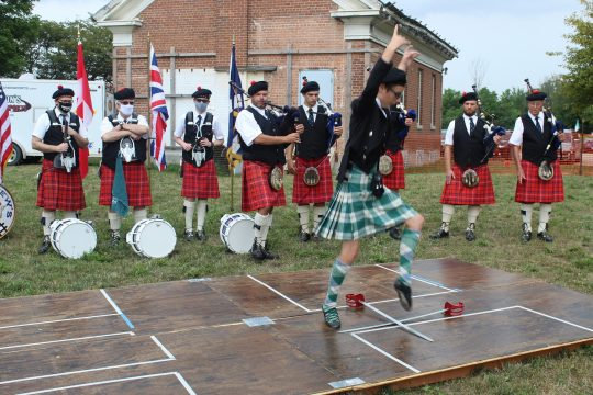 Sword Dance - a highlight of any Highland Games.