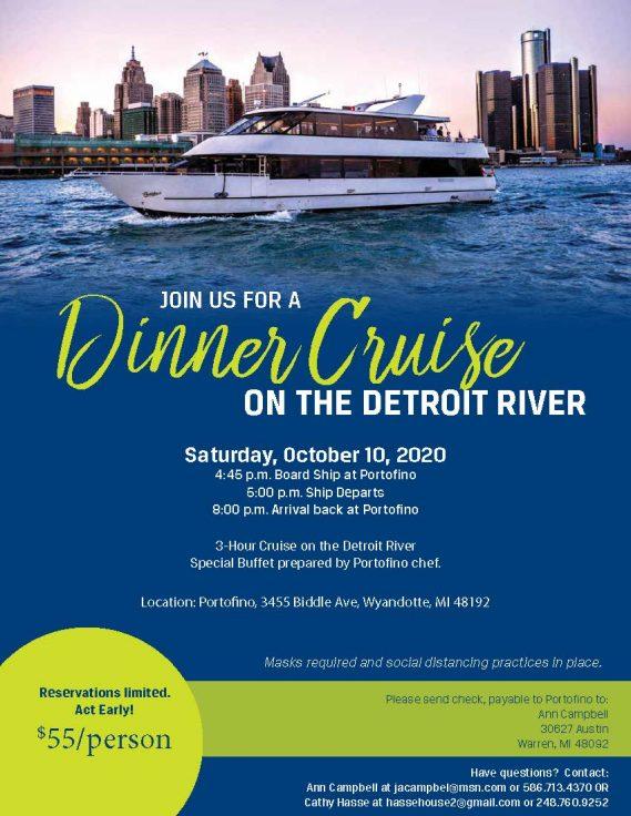 Dinner Cruise Flyer 2020