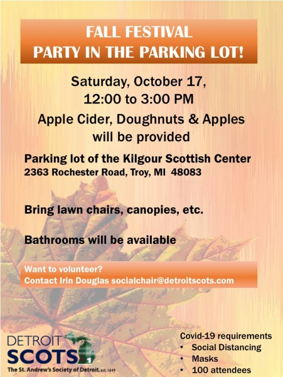Fall Party in the Parking lot