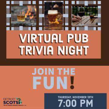 Virtual Pub Trivia Night