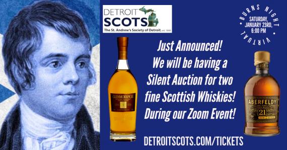 Burns Night Whisky Auction