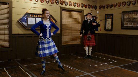 Highland Dancer Jessica
