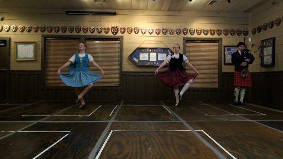 Highland Dancers Bella Sylvia