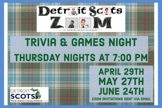 Virtual Trivia & Games Nights